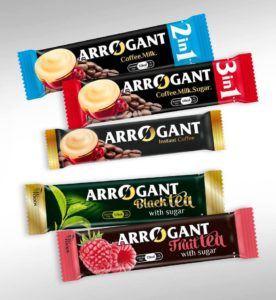 Arrogant coffee and tea products